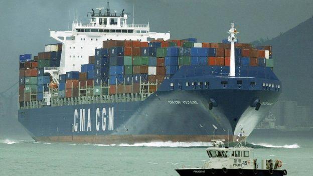Barco de carga.