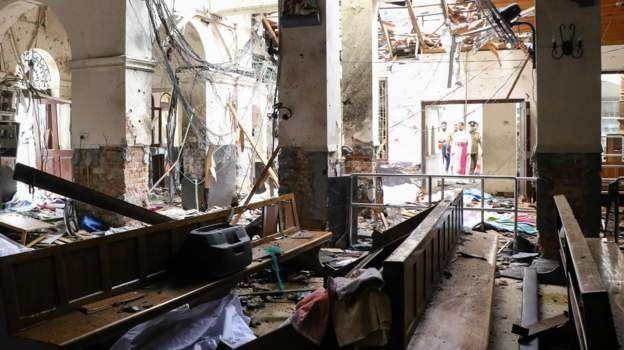Церква після вибуху