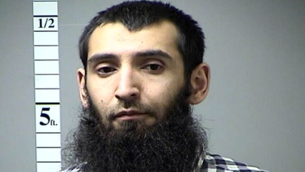 Sayfullo Saipov (Photo: Saint Charles County Police Department)
