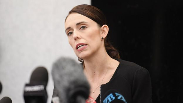 Jacinda Ardern press conference