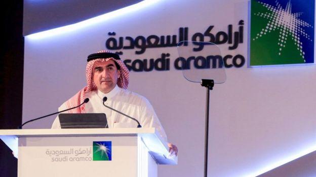 Yasir al-Rumayyan, directivo de Saudi Aramco.