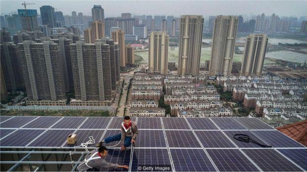 Çin güneş enerjisi