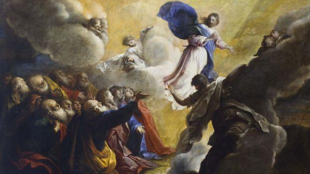 """Pintura """"Aparición de Cristo a los discípulos""""."""