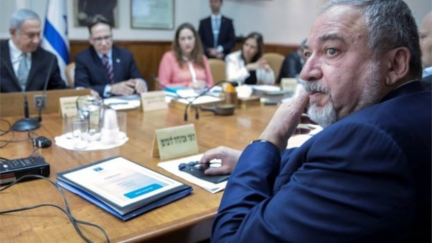Avigdor Lieberman (file photo)