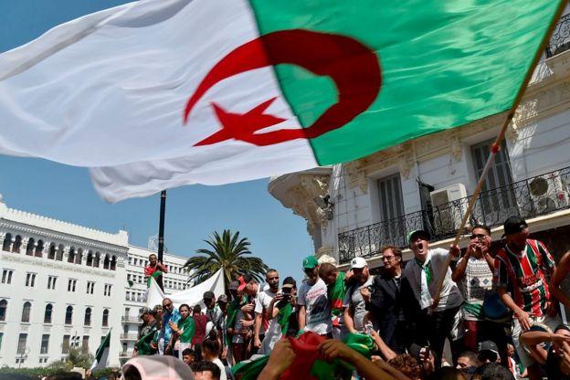 Manifestation du vendredi en Algérie.