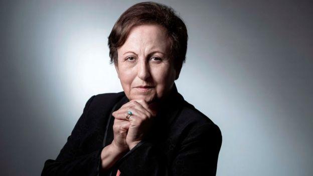 Shirin Ebadi, ganadora del Nobel de la Paz en 2003.