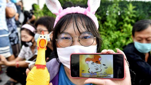 一只日本仓鼠的角色现已变成了叛逆的象征。