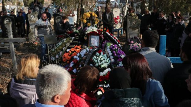 Могила Анастасии Ещенко / TERESHENKO MIKHAIL/TASS
