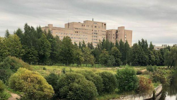 Здание больницы