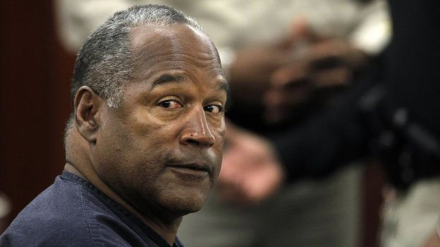 O.J. Simpson appears at an evidentiary hearing in Clark County District Court May 16, 2013 in Las Vegas, Nevada. S