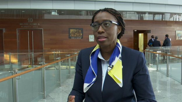Vera Songwe, executive secretary of the UN Economic commission for Africa