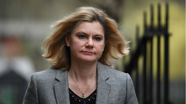 Justine Greening, who has resigned
