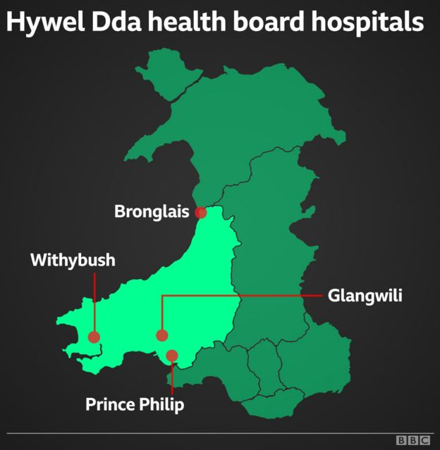 Health board map