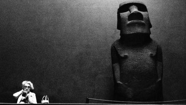 Moai en el Museo Británico