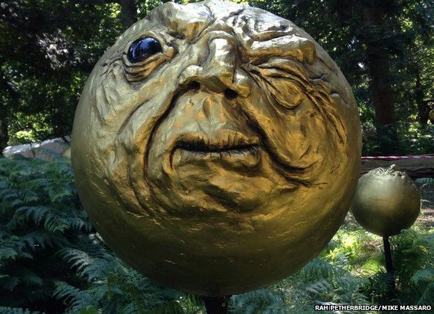 Golden head from Latitude
