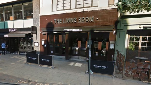 Shots Fired At Manchester Bar The Living Room