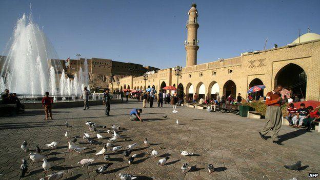 The Erbil citadel is a Unesco World Heritage site in Iraq