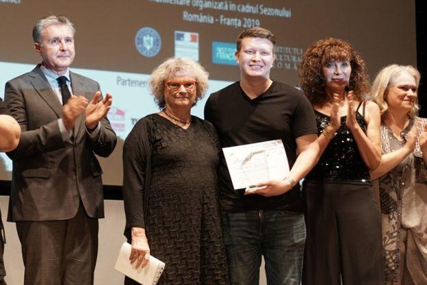 Наріман Алієв отримав нагороду в Бухаресті