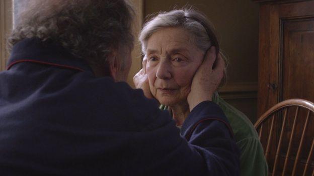 """Escena de la película """"Amour"""""""