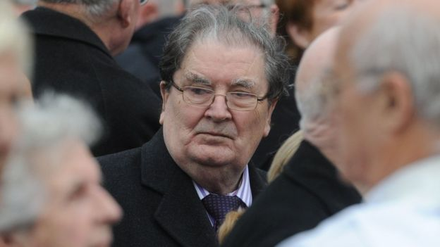 John Hume had difficulties remembering day-to-day occurrences, his wife Pat said