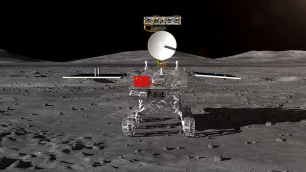 Ilustración de la sonda Chang'e 4