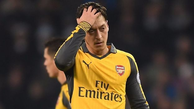 Ozil asema hana nia ya kuondoka Arsenal