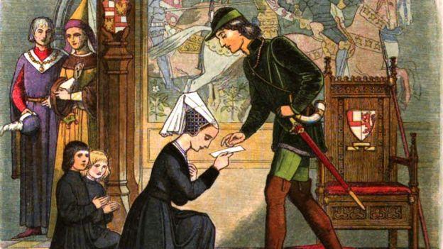 Первая встреча Элизабет Вудвилл и Эдуарда IV