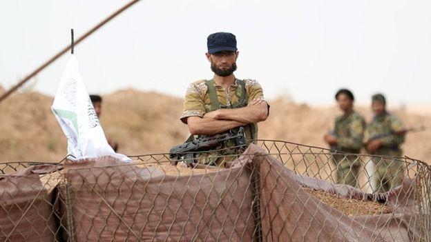 Ulusal Kurtuluş Cephesi, İdlib'in kuzeyindeki kontrol noktasında