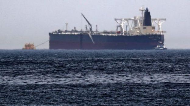 Empat kapal, termasuk kapal Saudi, Amjad disabotase permulaan tahun ini.