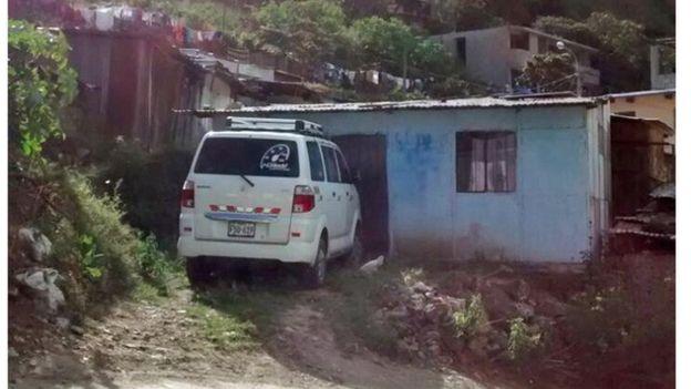 Residência do dono do bar em que Artur trabalhava, em Santa Teresa, no Peru, onde foi encontrado sangue que poderia ser do jovem. Segundo autoridades peruanas, exames apontaram que o material não era do jovem