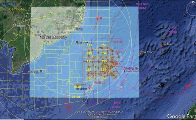 Google Earth / Pham Van Song