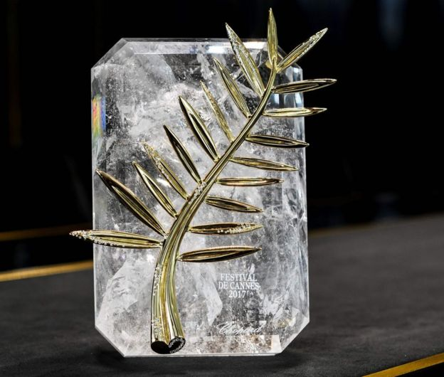 The Palme d'Or trophy