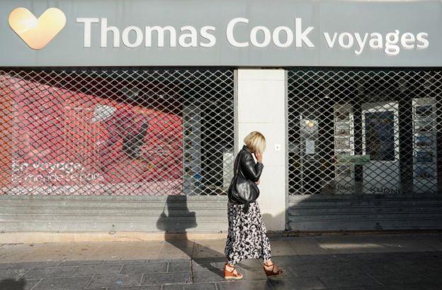 توماس کوک برای کاهش هزینهها از فروردین ماه اقدام به بستن بعضی از دفاتر خود کرد
