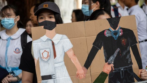 Hong Kong protest: City reels from 'one of its most violent days'
