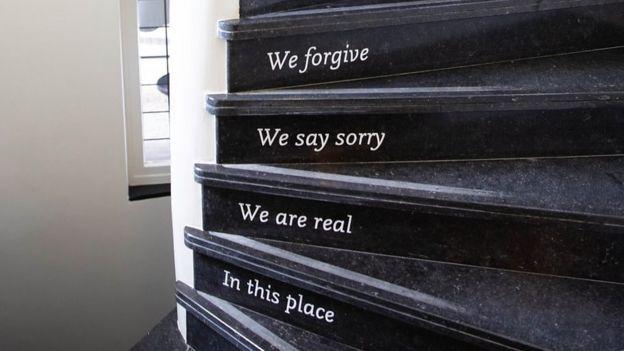Escaleras del centro