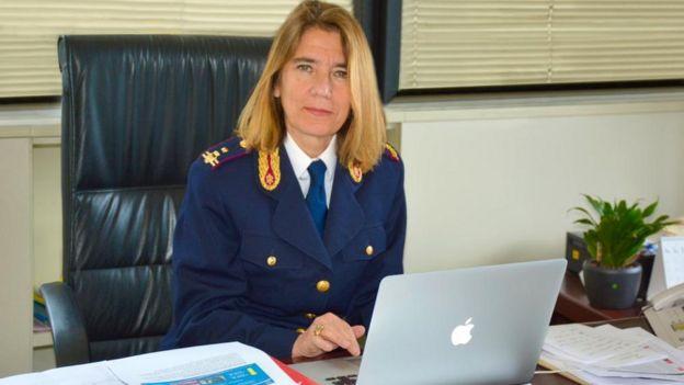 Nunzia Ciardi, Jefa de la Policía de Correos y Telecomunicaciones de Italia