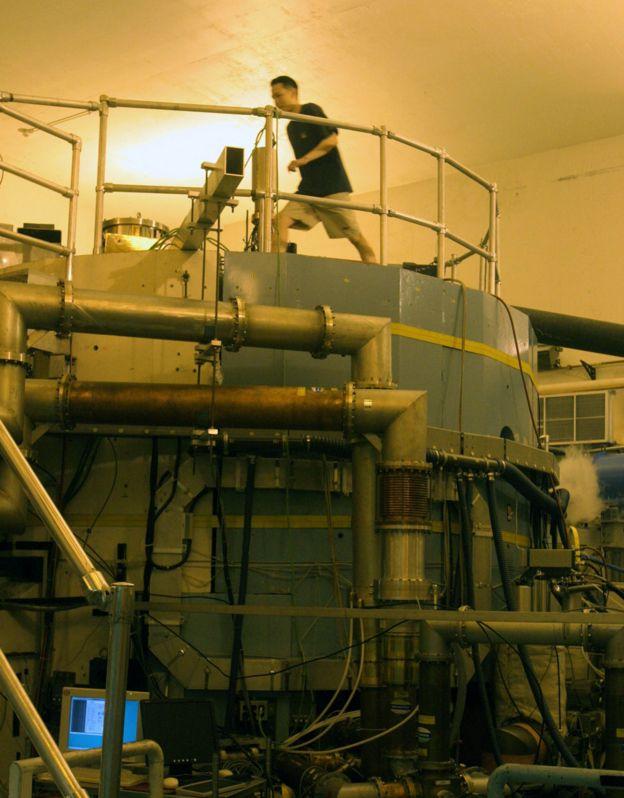 El reactor que se construye en MIT.