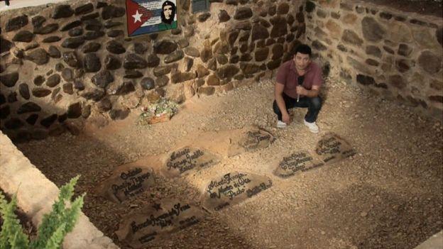 Fosa del Che abierta al público (Foto: Luis Velasco/BBC Mundo)