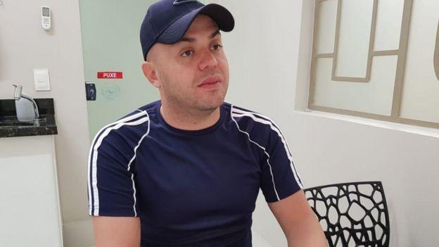 El empresario y periodista brasileño Peterson Prestes.