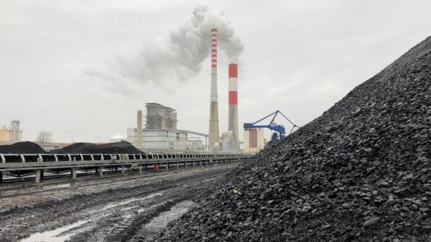 Chinese-supported coal plant at Kostolac in Serbia