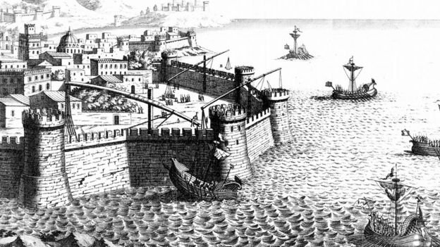 Las garras de Arquímedes