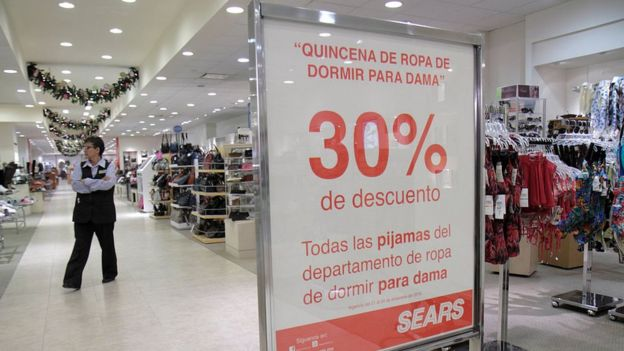 6a8e9fbb62cd Bancarrota de Sears en EE.UU.  por qué la empresa sigue teniendo ...