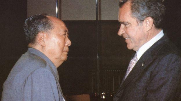 毛泽东与尼克松