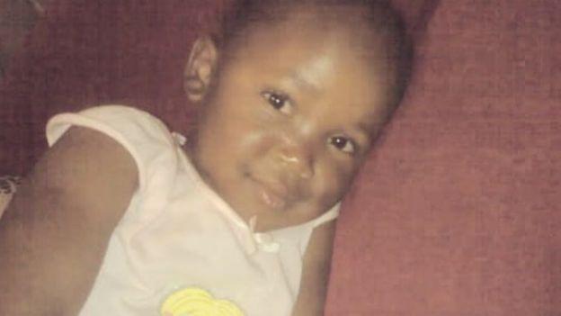 La hija de Bongekile Msibi.