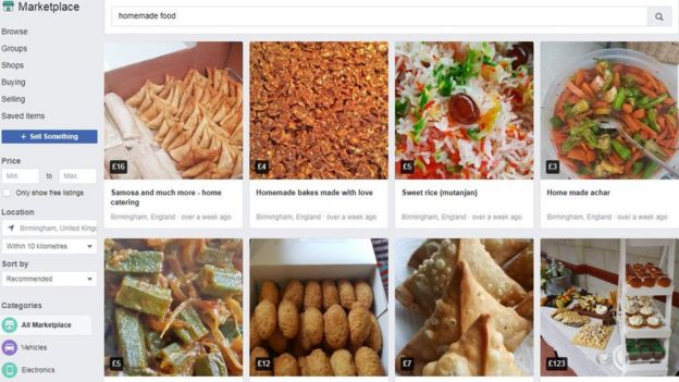 Homemade Food The Home Cooks Selling Hot Dinners On