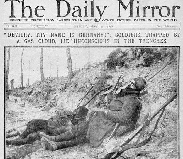 Daily Mirror May 1915