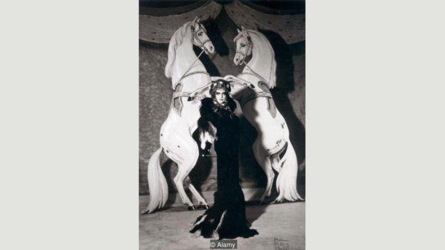 Casati en una fotografía en el Beaumont Ball de Paríss en 1935 Foto: Alamy