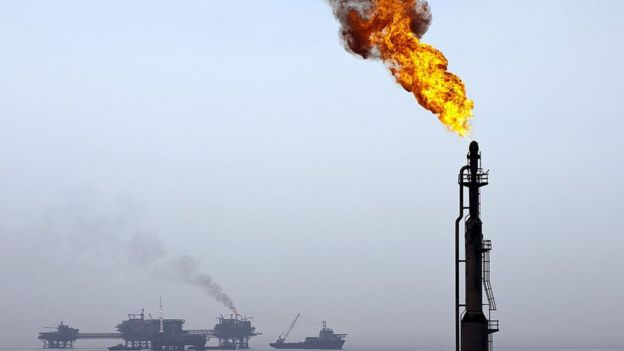 Campo petrolero de Pemex