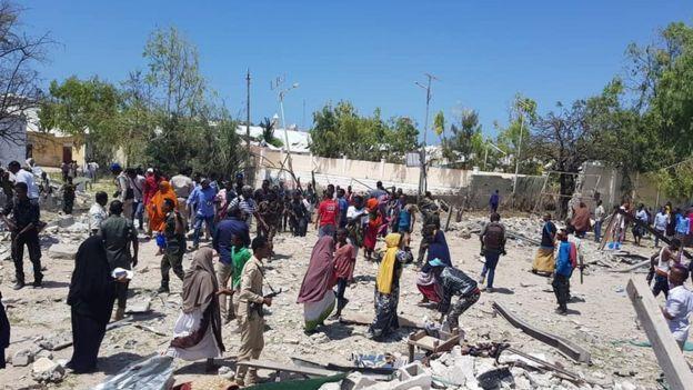 Al Shabaab ayaa sheegatay mas'uuliyadda weerarka
