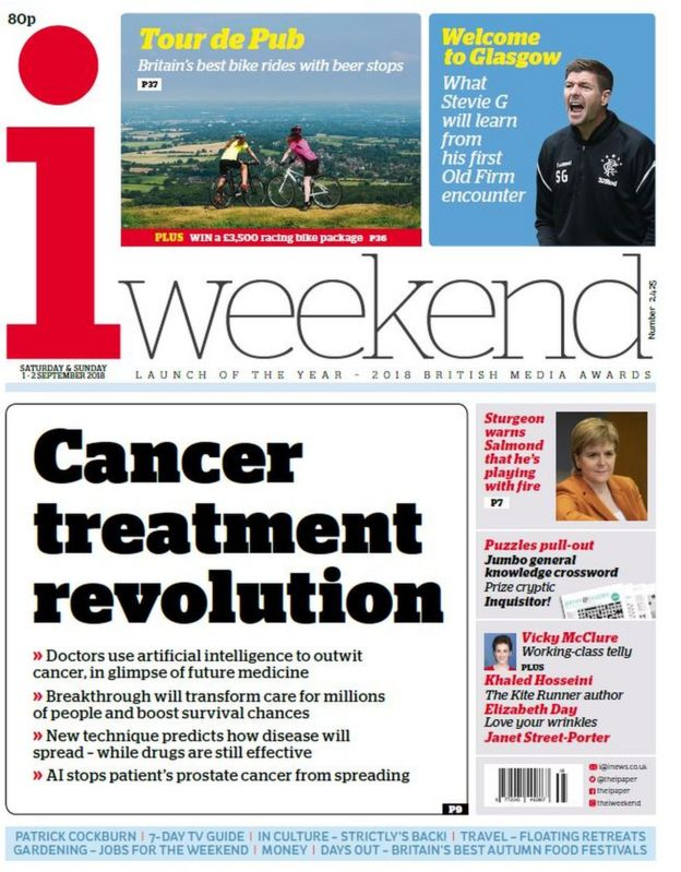 The papers: Cancer treatment 'revolution' - BBC News